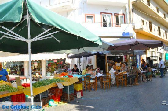 Markt op Zuid Kreta (Timbaki en Mires)